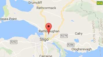 Location of MS North West Therapy Centre Sligo
